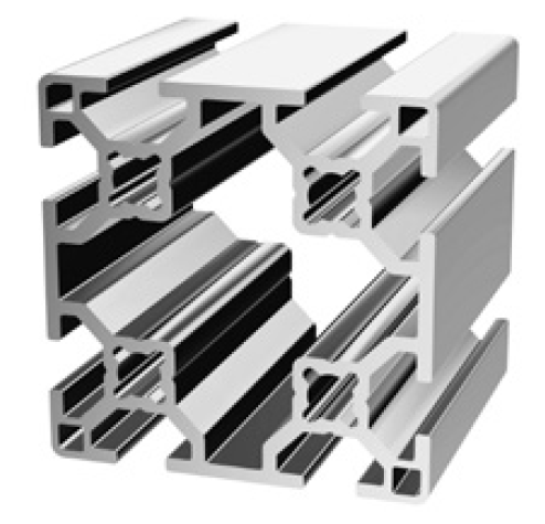30-6060 T-slot Extrusion - Custom Length | F&L Industrial