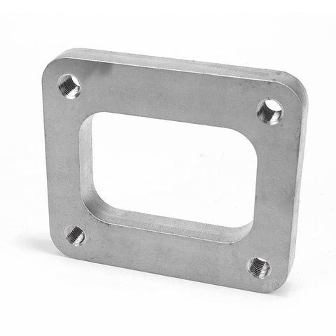 Squirrelly Performance T4 Non-Divided Inlet Flange / 304 Stainless Steel
