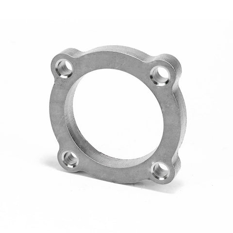 "Squirrelly Performance 2.5"" 4 Bolt Discharge Flange / 304 Stainless Steel"