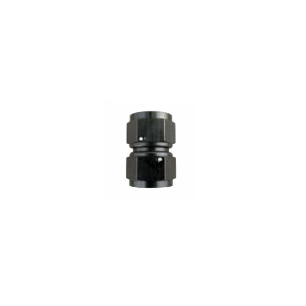 Squirrelly Performance Swivel Female-to-Female Coupler | -12an | Black