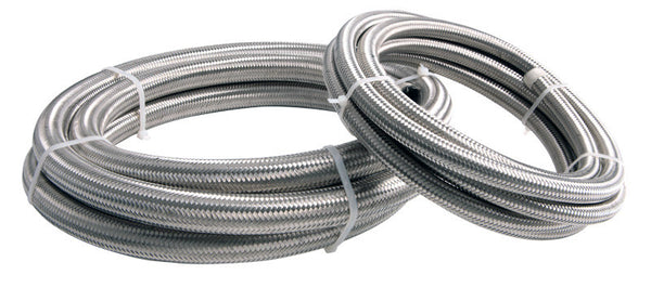 Squirrelly Performance Stainless Braided Hose | -8an | Price Per Foot