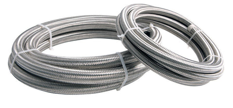 Squirrelly Performance Stainless Braided Hose | -12an | Price Per Foot