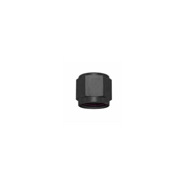 Squirrelly Performance Tube Nut | -4an |Black