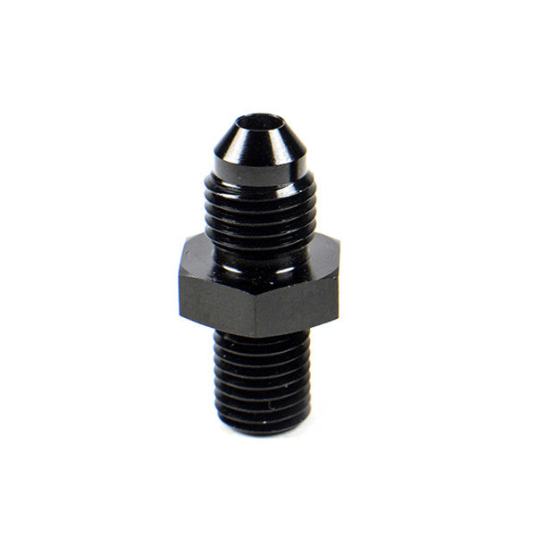 Squirrelly Performance Metric Adapter Fitting | -6an to 12 X 1.25 | Black