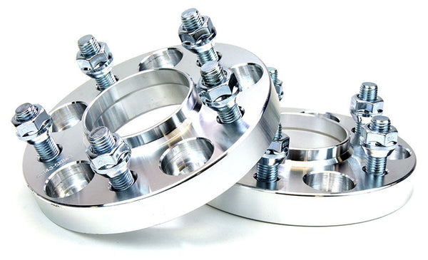 Squirrelly Performance Wheel Spacers | 15mm | 5x114.3 | 67.1mm Bore | 12x1.5 | Pair