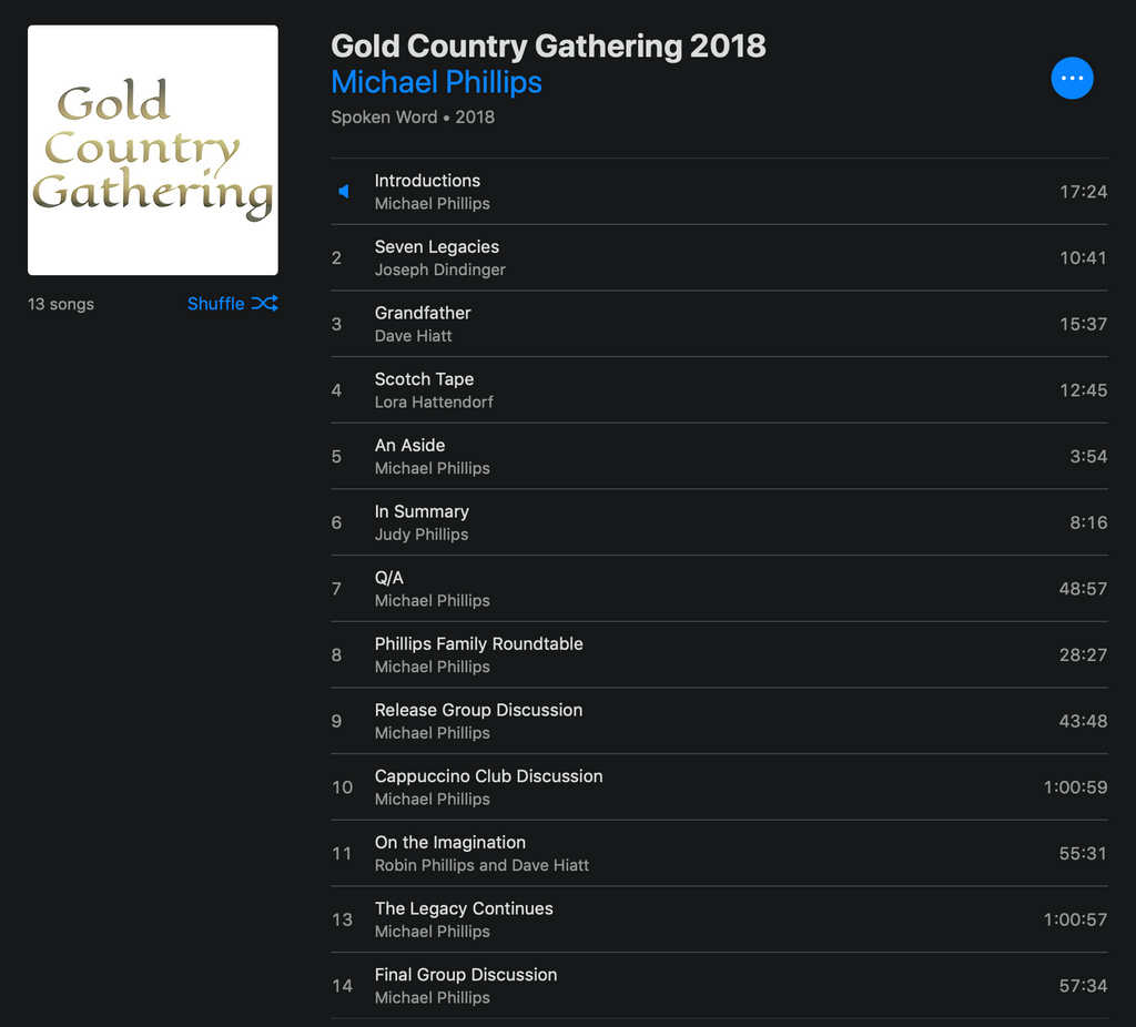 Gold Country Gathering 2018