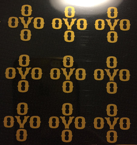 GOLD OVO (DIY/Iron ons)