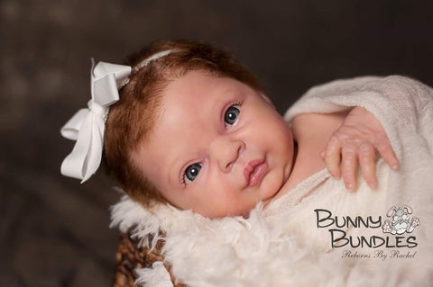 Reborn Doll by Rachel Smith using Luminaire Paint for doll painting