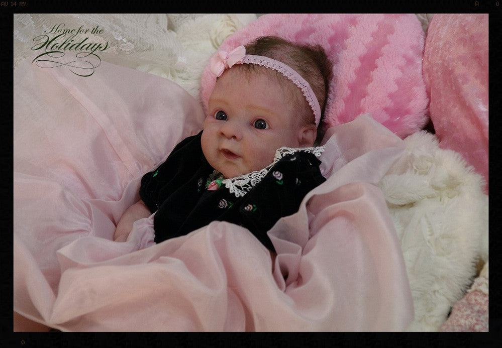 Reborn Doll by Janice Fricker Created with Luminaire