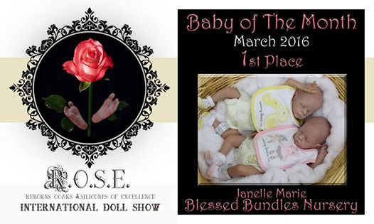 Doll by Janelle Blessed Bundles Nursery Created with Luminaire