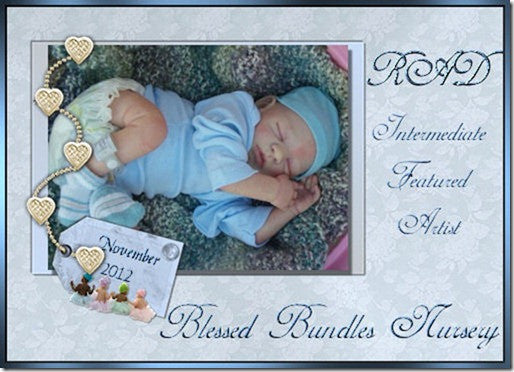 Reborn Doll by Janelle Blessed Bundles Nursery Created with Luminaire