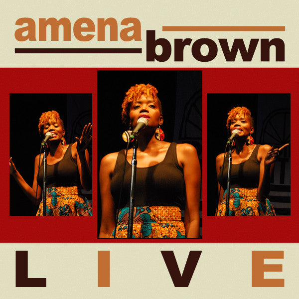 "NEW Amena Brown's ""LIVE"""