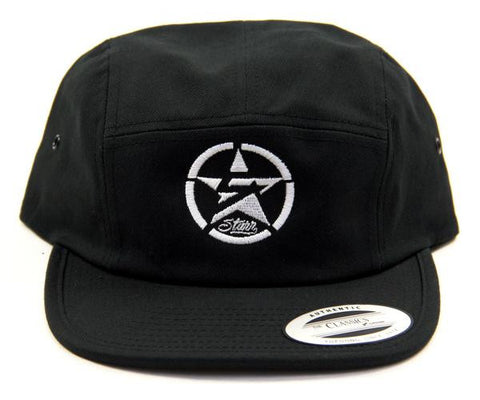 5Starr Circle Logo Five Panel Hat
