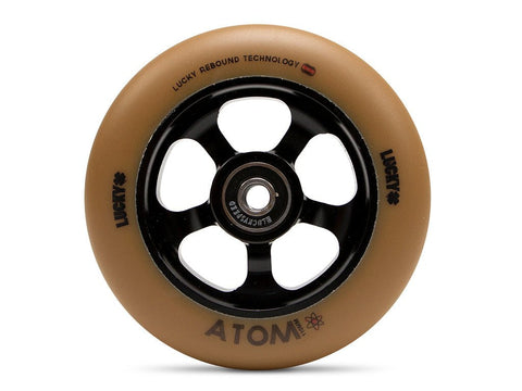 2017 Lucky ATOM 110mm Pro Scooter Wheel - Gum/Black