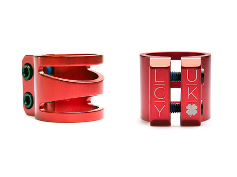 2016 Lucky DUB Pro Scooter Clamp - Red
