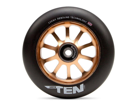 2016 Lucky TEN 120mm Pro Scooter Wheel - Black/Copper