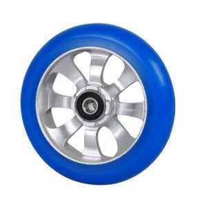 Fasen 8 Spoke 110mm Wheel Silver/Lt Blue (1)