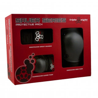 Triple Eight Saver Series 3-Pack - Jr Size