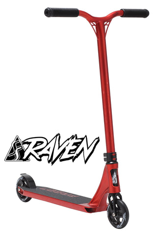 Fasen Raven Complete 2015 Scooter - Red