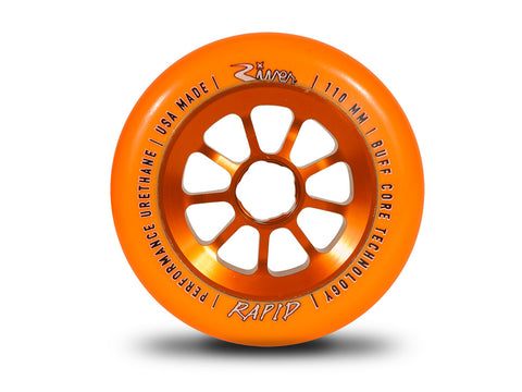 PROTO - River Wheels-Rapids 110mm (Orange On Orange) (Set of 2)
