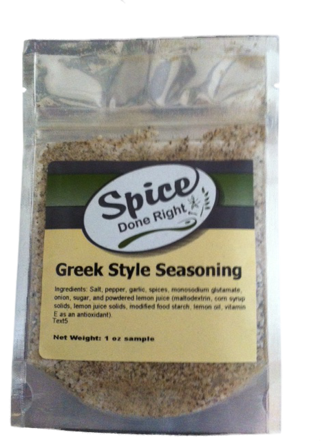 Greek Style Seasoning - Spice Done Right