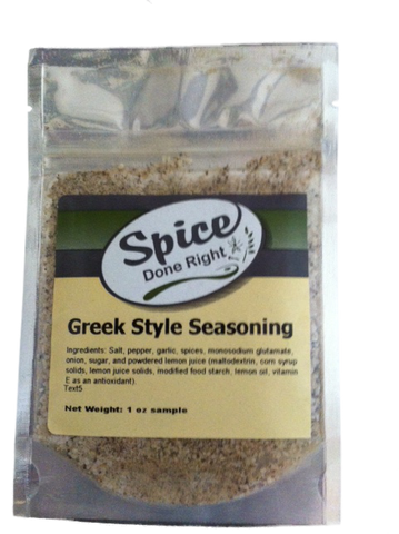 Greek Style Seasoning