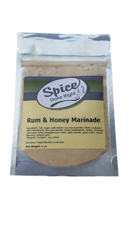 Rum and Honey Marinade - Spice Done Right