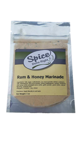 Rum and Honey Marinade