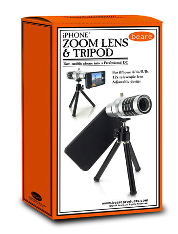 Eric Beare iPhone 12x Zoom Lens with Stand