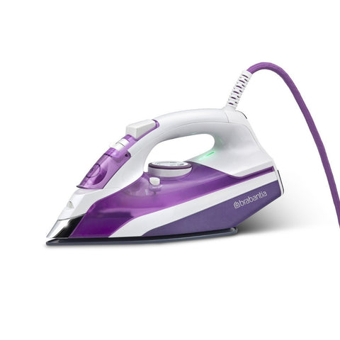 Brabantia 2400W Steam Iron with Ceramic Sole Plate