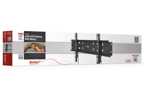 "Barkan E30 LED/ LCD/ Plasma, Wall Mount, Fixed, Fits up to 56""/ 142 cm"