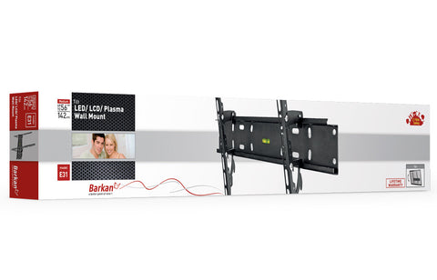 "Barkan E31 LED/ LCD/ Plasma, Wall Mount, Tilt, Fits up to 56""/ 142 cm"