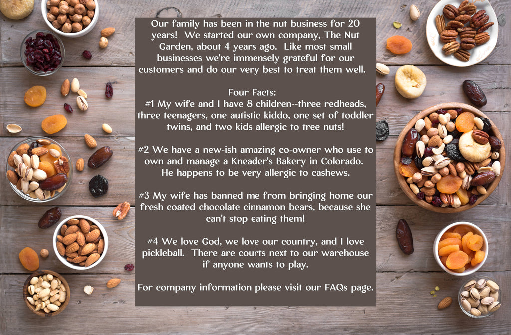 The Nut Garden About Us