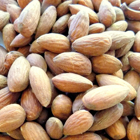 Bulk Almonds, Roasted and Salted (25 lb case)