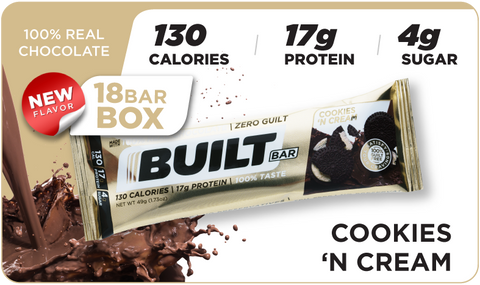 Built Bars, Cookies & Cream