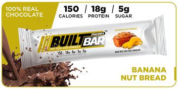 Built Bars, Banana Nut (18 bars)