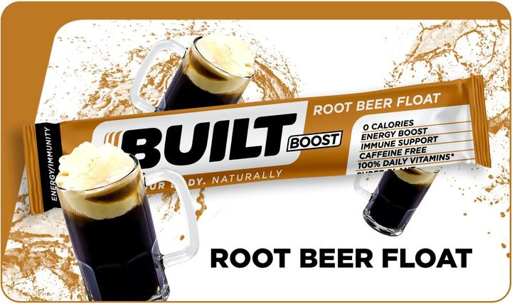 Built Boost Root Beer Float (18 packets)