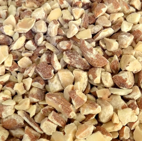 Bulk Almonds, Diced (Dry Roasted 22/8) (25 lbs) (AB Stock)
