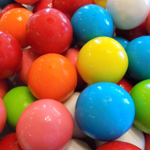 Bulk Gumballs, Large Mixed Colors