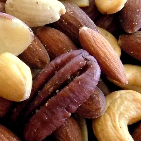 Bulk Deluxe Nuts, Roasted and Salted (25 lb case)
