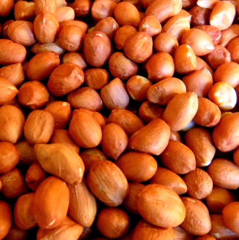 Spanish Red Skin Peanuts, Raw (per 1 lb)
