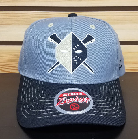 Wheeling Nailers Zephyr Adjustable Gray Hat