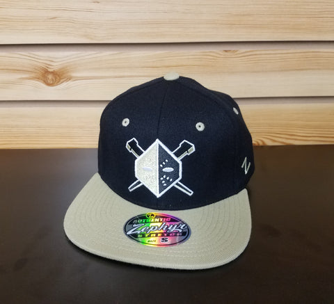 Wheeling Nailers  Zephyr Fitted Flat Bill Hat