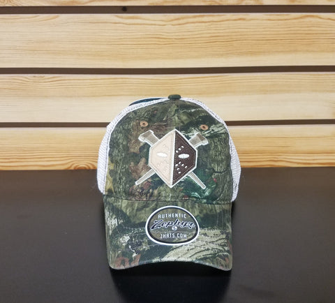 Wheeling Nailers Zephyr Real Tree Camo Hat