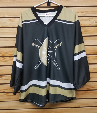 Wheeling Nailers Light Weight Youth Black Jersey