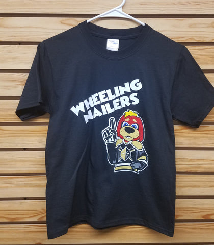 Wheeling Nailers Spike Youth T-Shirt
