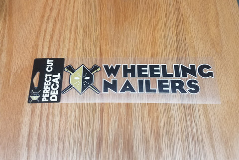 Wheeling Nailers Perfect Cut 3x10 Decal