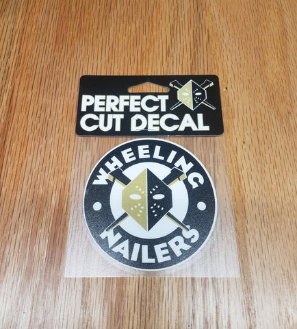 Wheeling Nailers Perfect Cut Circle Logo Decal