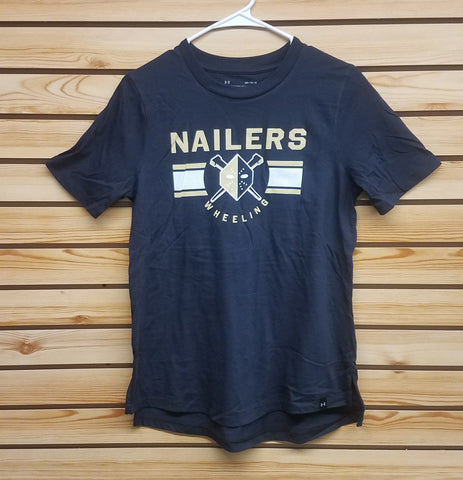 Wheeling Nailers Under Armour Womens Tee Black