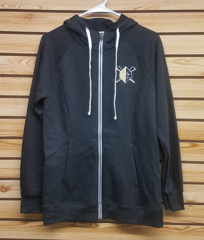 Wheeling Nailers Full Zip Hooded Jacket Vegas Mask